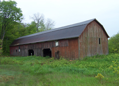 Swenson's Barn on North Manitou Island