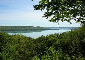 Glen Lake from the Pierce Stocking Scenic Drive