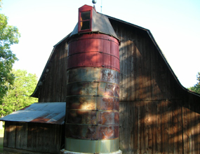 Silo at the Olsen Farm
