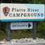 Platte River Campground Map and Regs