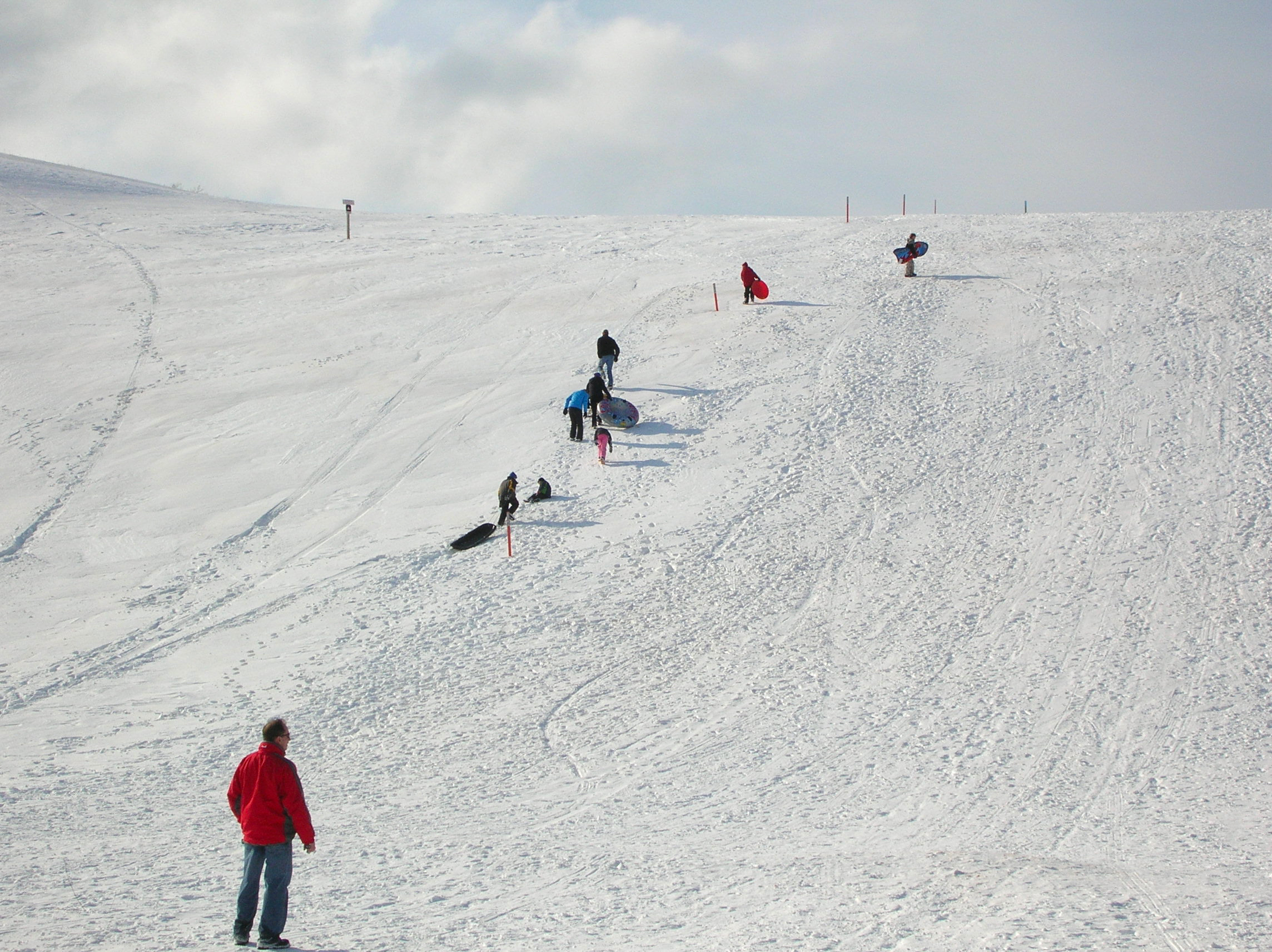 Winter Activities Sleeping Bear Dunes National Lakeshore US - The best sledding hills in north america