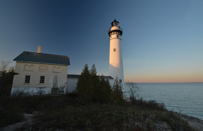 South Manitou Island lighthouse