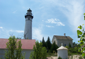 Lighthouse on South Manitou Island