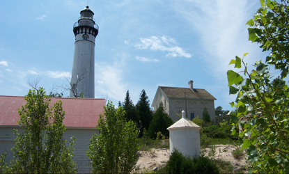 South Manitou Island Lighthouse Area
