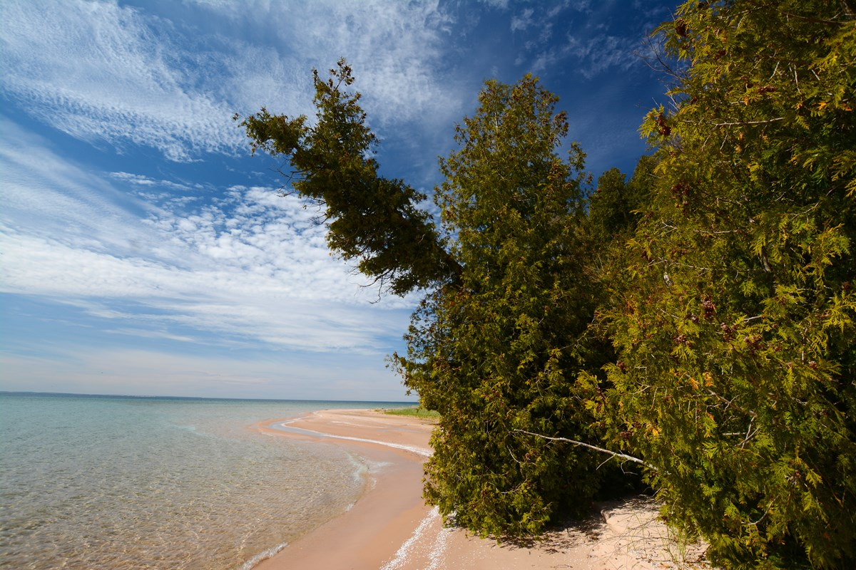 South Manitou Island beach