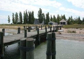 South Manitou Island Dock and Ranger Station