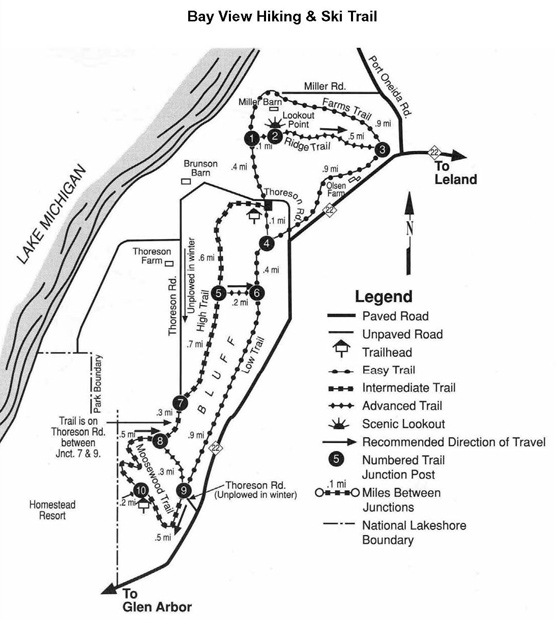 Bay View Trail Map