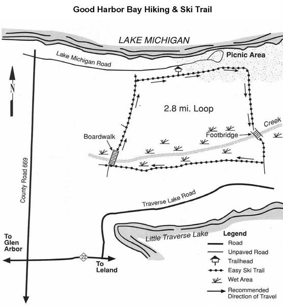 Good Harbor Bay Trail - Sleeping Bear Dunes National