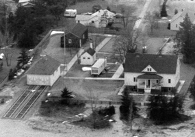Areal photo of US Coast Guard Station and Maritime Musem
