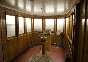 Maritime Museum, US Coast Guard Station, Wheelhouse Exhibit