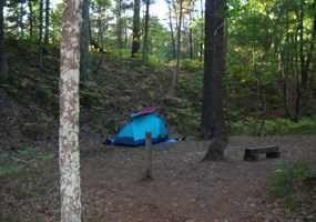White Pines Camp Site