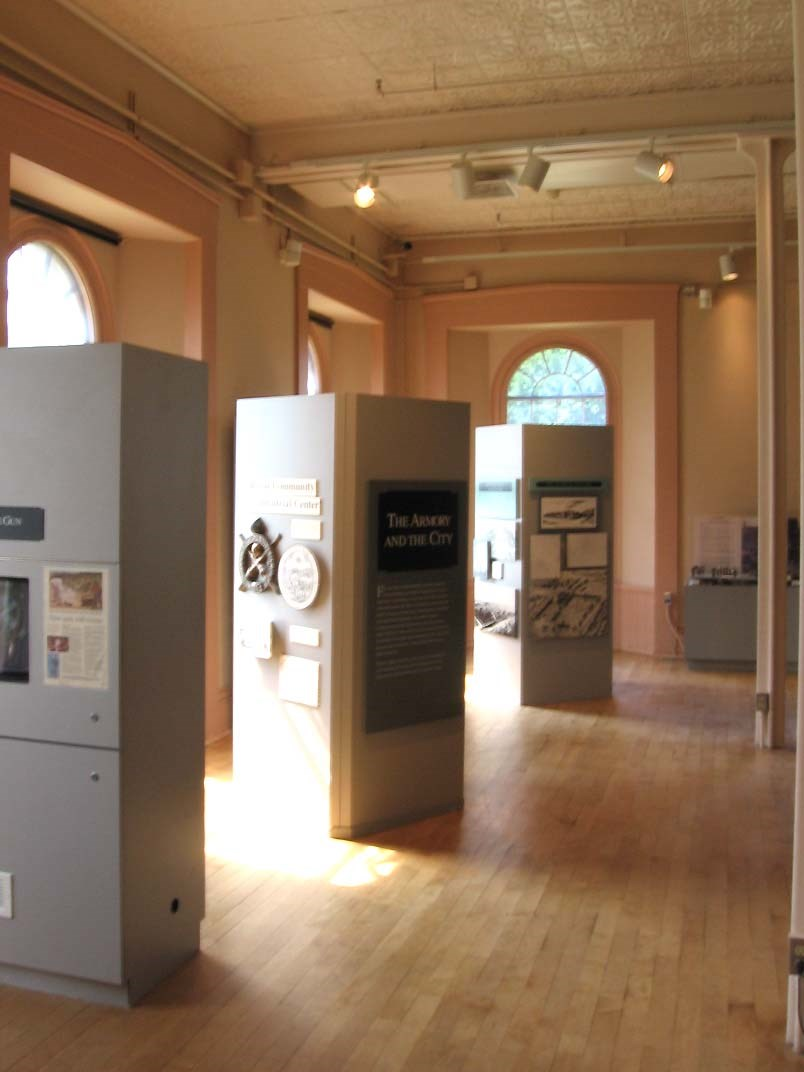 view of THE ARMORY AND THE CITY exhibit