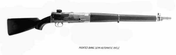 Hatcher's second rifle based on the Bang rifle