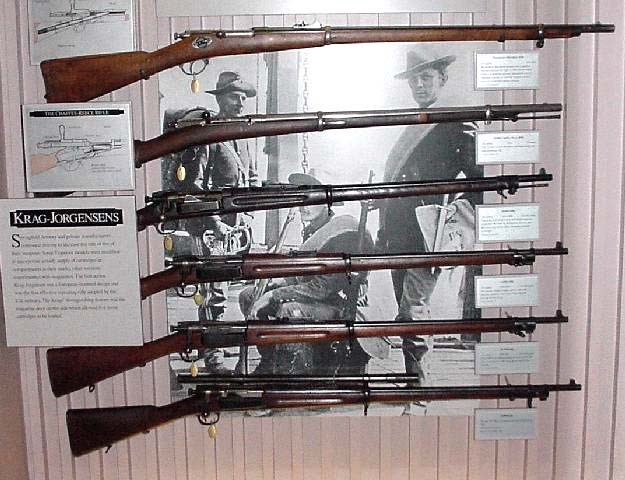 Early Springfield Armory magizine rifles
