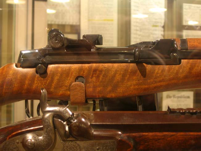President Eisenhower's personal rifle