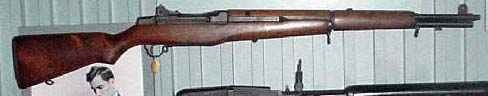 A transitional Garand rifle chambering the 7.62mm NATO cartridge