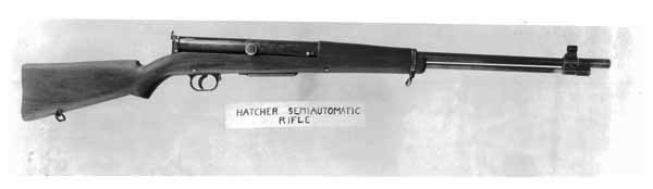 Capt. Hatcher 1920 redesign of the Bang rifle