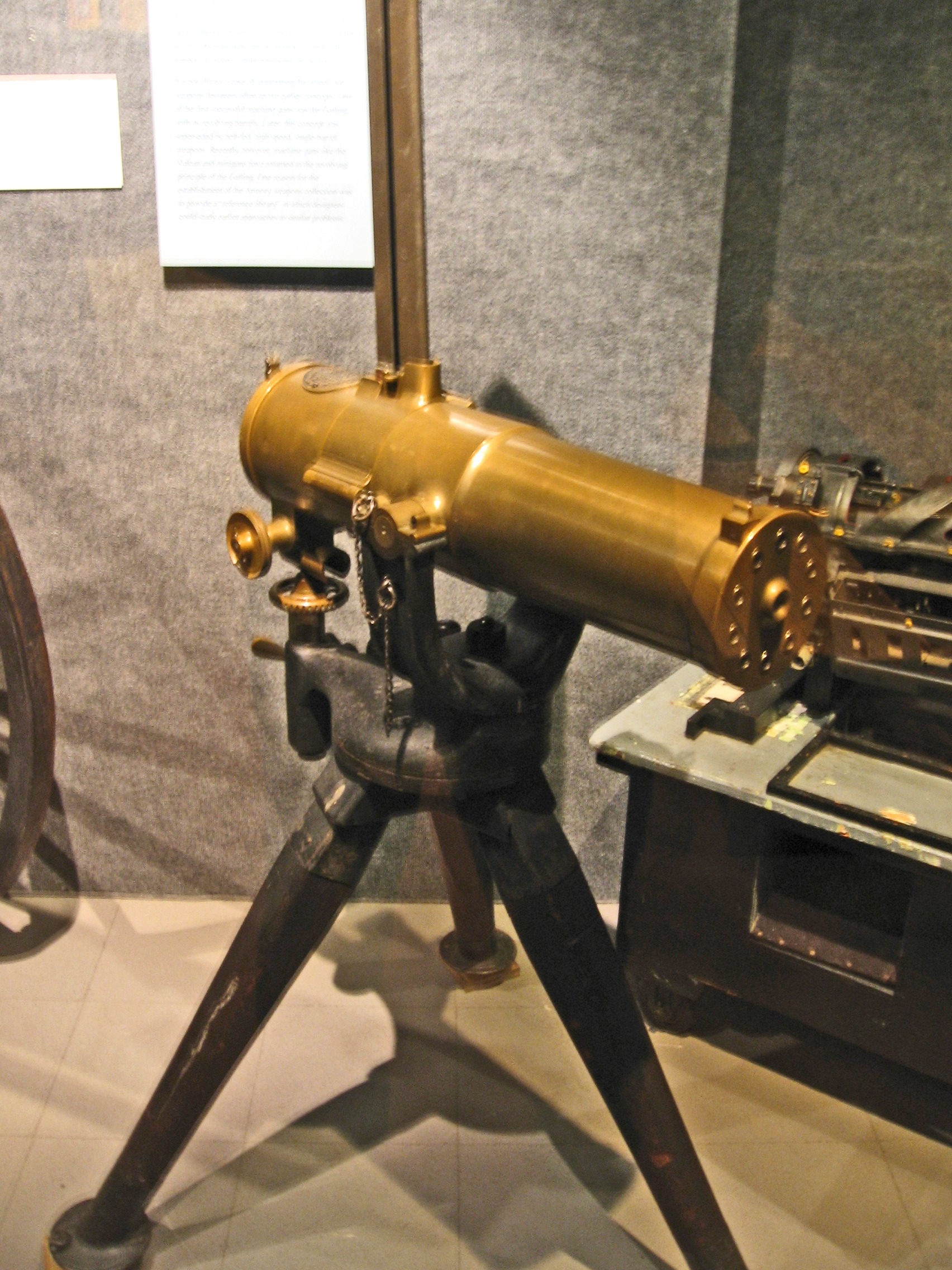 civil war machine guns