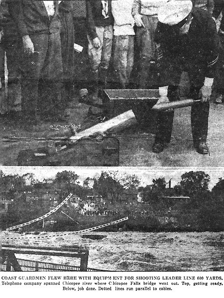 Lyle gun used in nearby Chocopee in 1936
