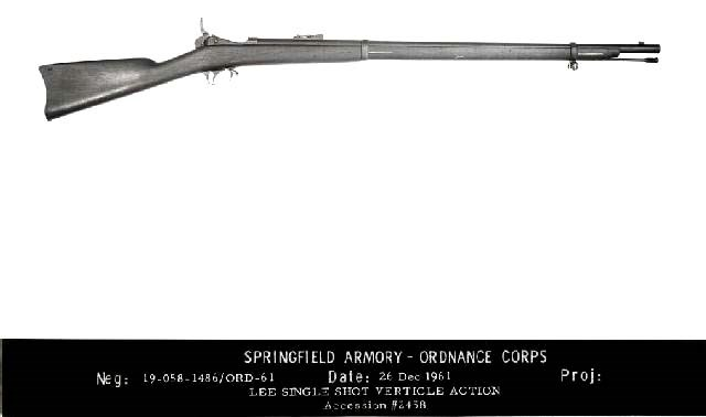 M1875 Springfiedl Lee rifle