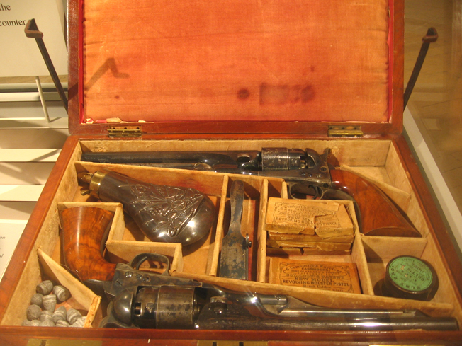 Colt M1860 percussion revolvers in case