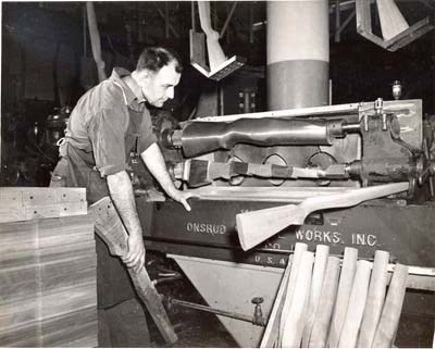 Early WWII Blanchard lathe
