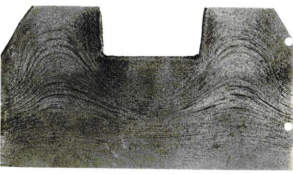 Cross-section of a forging