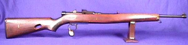 Garand version of a carbine