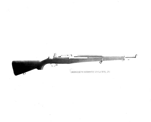 The Garand T1 rifle