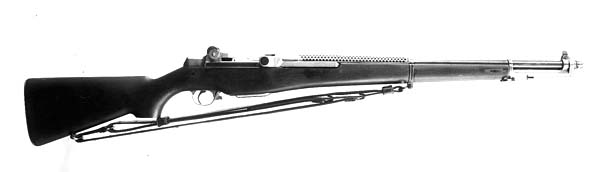 Garand T3 rifle in .276 caliber
