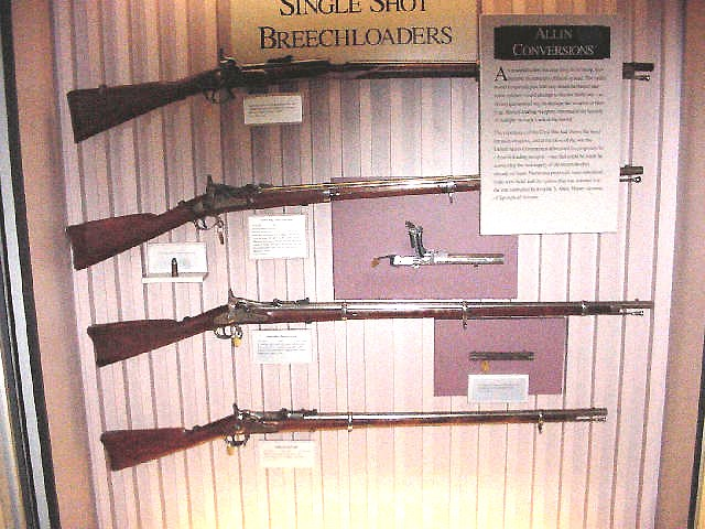 Early Springfield Armory TRAPDOOR rifles