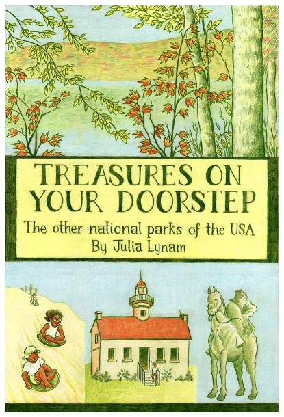 Treasures On Your Doorstep cover illustration by Melanie Gillman