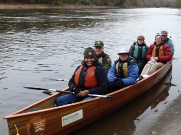The Mississippi River Collaborative meeting included a river survey and a chance to enjoy its beauty.