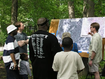Cheverly Citizens identify special places.