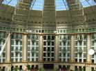 The dome of the six-story atrium spans 200 feet and was once dubbed the