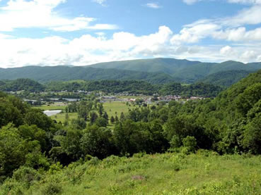 Saltville Valley from the Route 107 Overlook