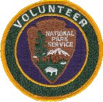NPS Volunteer-in-Park uniform patch