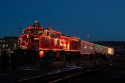 CPR 2003 Holiday Train at Steamtown NHS