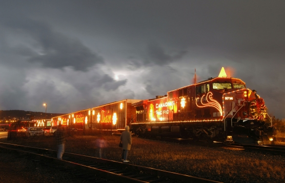 Canadian Pacific 2006 Holiday Train at Steamtown NHS