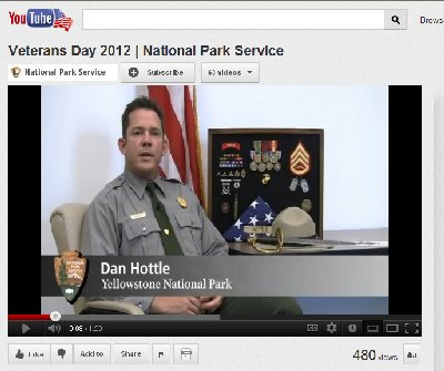 YouTube NPS 2012 Veterans Day