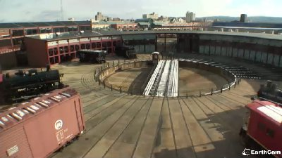EarthCam image from Roundhouse & Turntable webcam