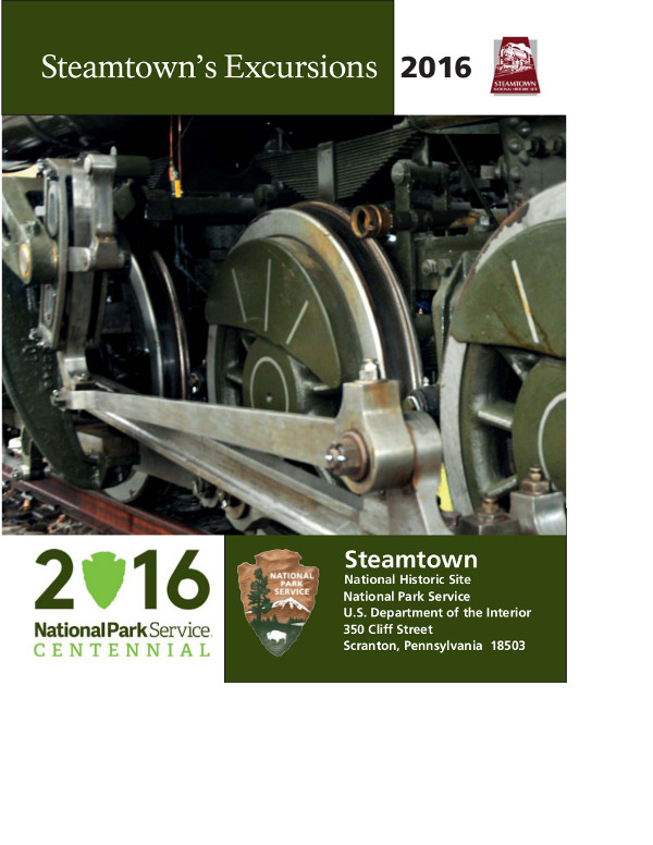 Steamtown NHS 2016 Excursions Guide