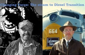 Changing Faces: Steam to Diesel Transition Walking Tour