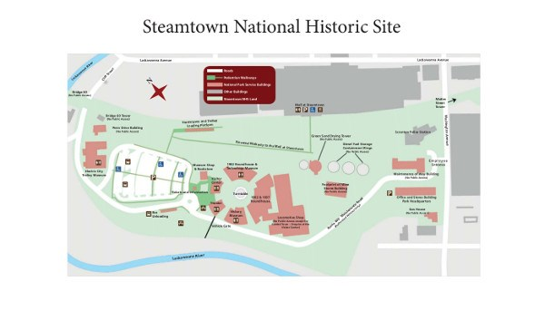 Steamtown NHS Site Map