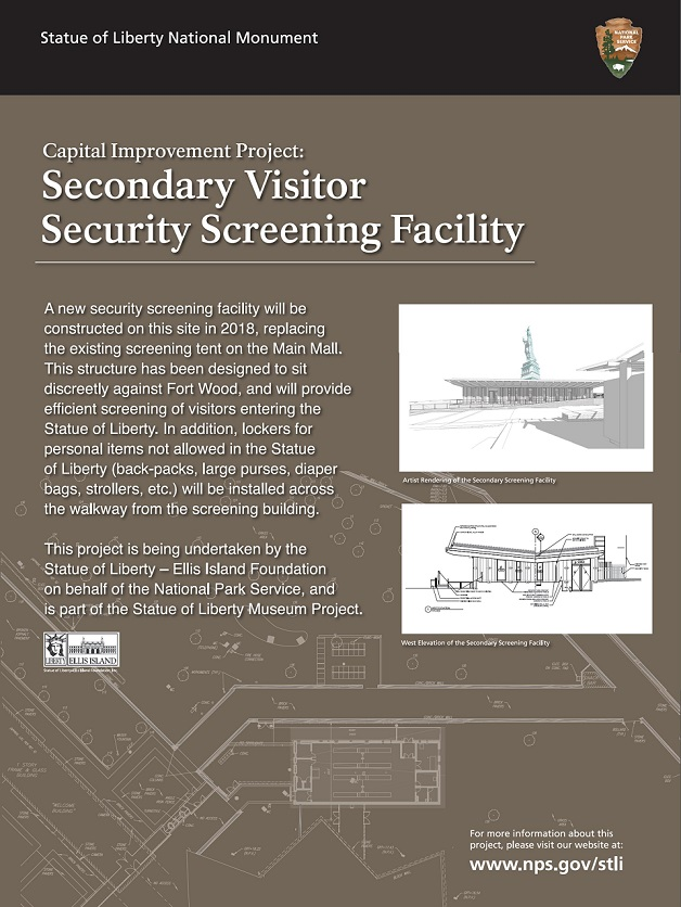Secondary Visitor Security Screening Facility
