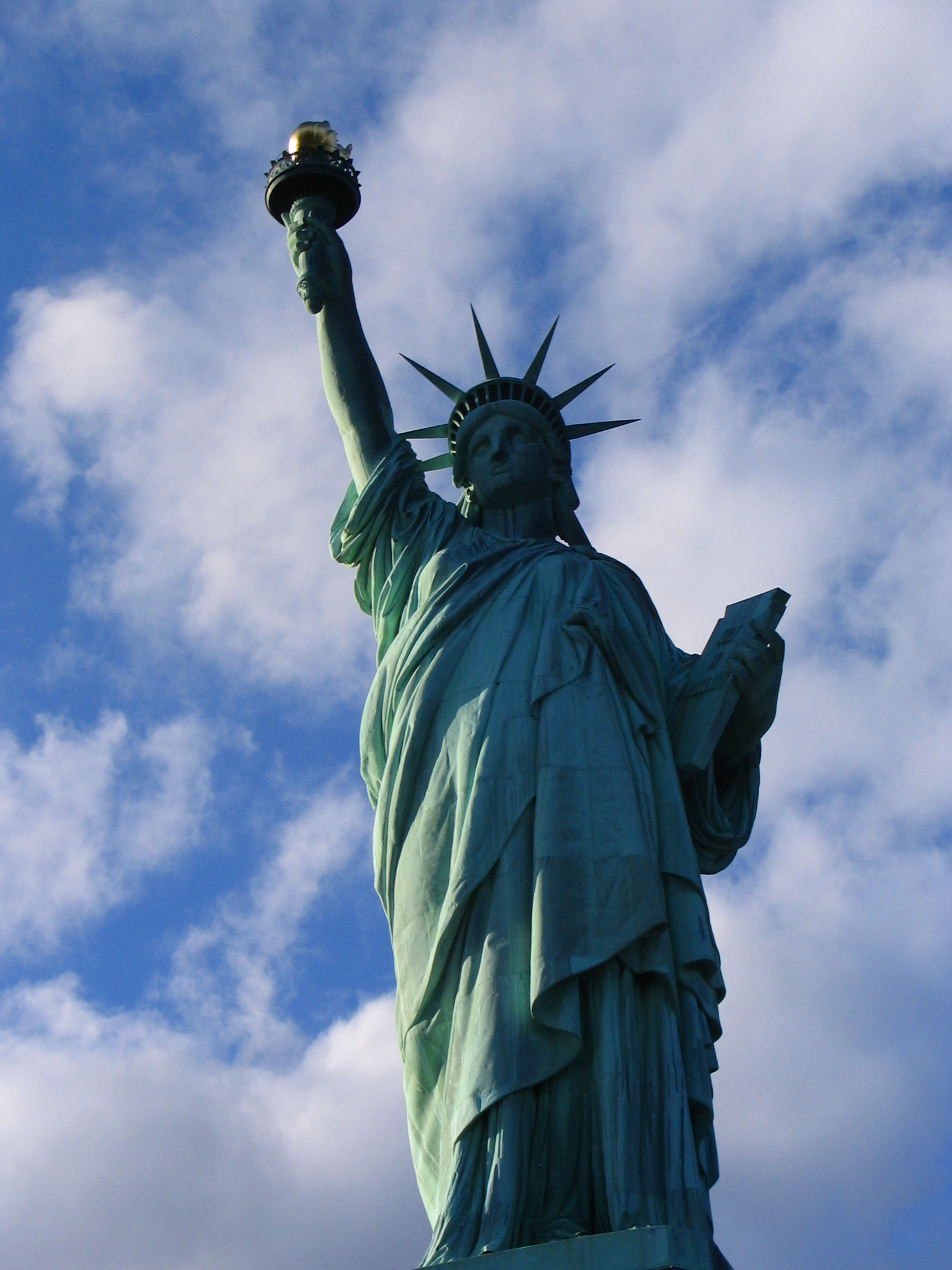 statue of liberty essay Liberty island to remain open during work inside the statue of liberty.