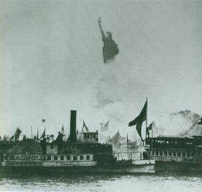 Why was the Statue of Liberty built?