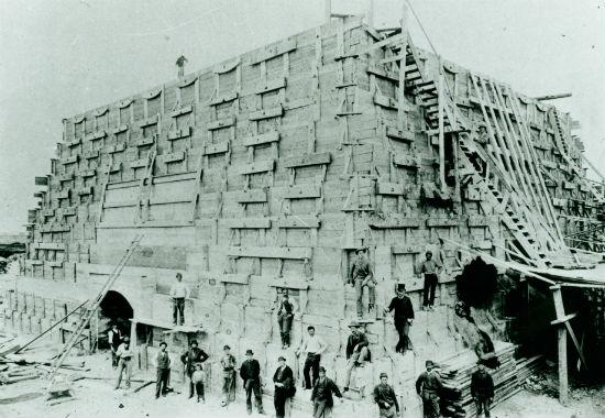 PedestalConstruction