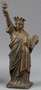 An American Committee fundraising statuette