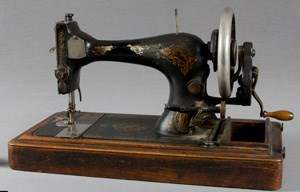 Singer sewing machine from Scotland c. 1880s